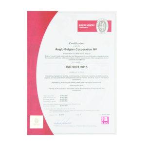2018 05 28 Iso2009 2015 Certificate Thumb Website