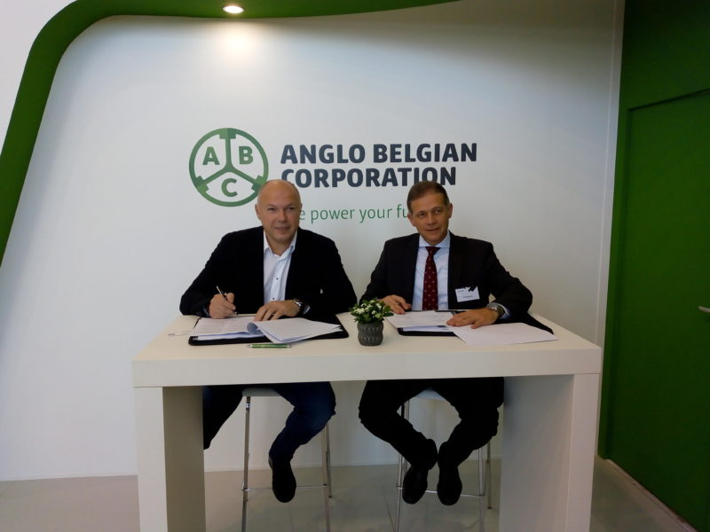 Nikolaev Locomotive Rebuilder and Anglo Belgian Corporation sign agreement to repower TEM7 locomotive in Ukraine