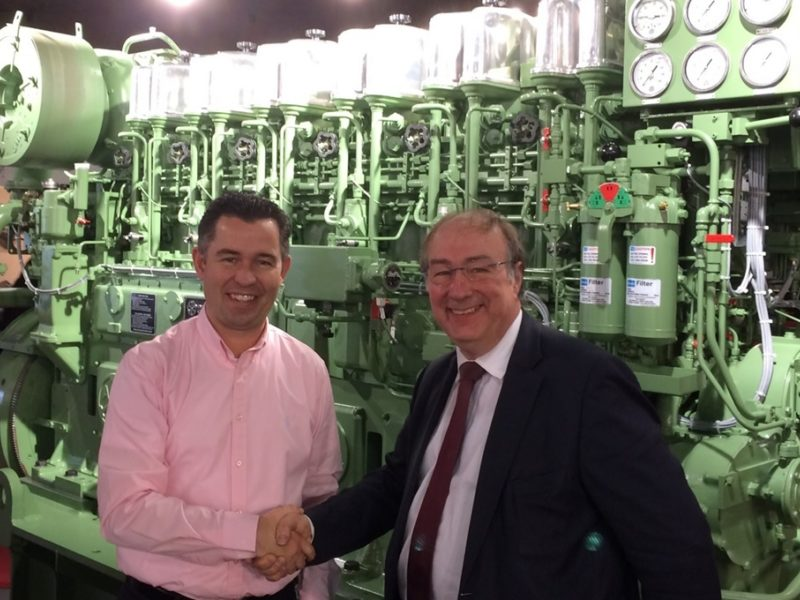 ABC & VEKA Group Shipyard sign agreement for five 6DZC engines
