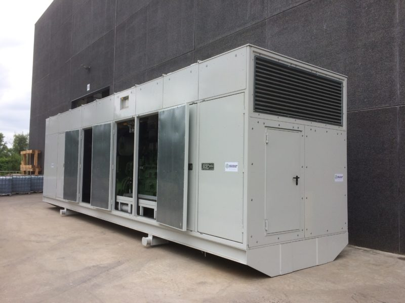 Containerized Genset 3