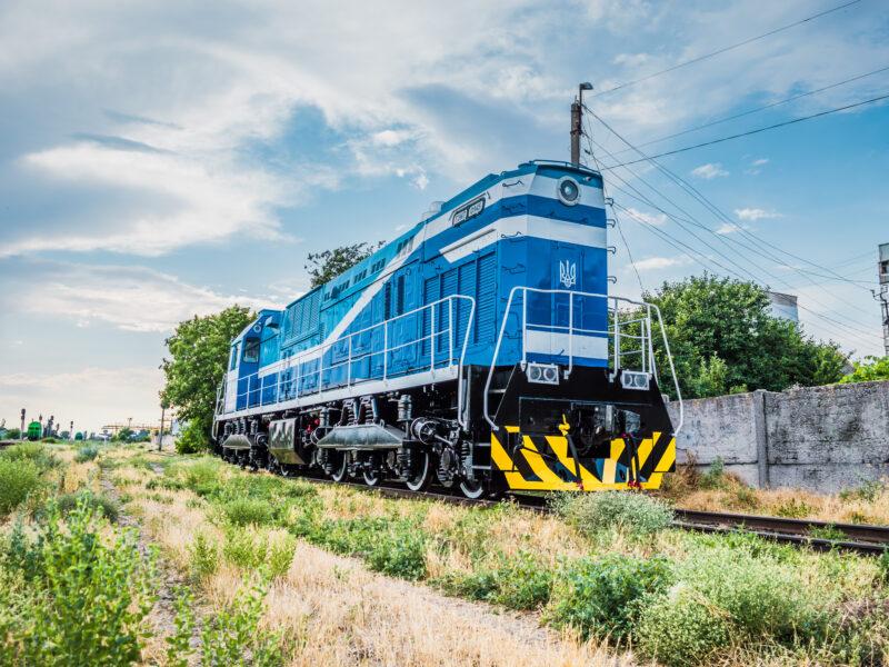 Nikolaev Locomotive Repair Plant & ABC successful repowering of TEM7 & 2TE10 Arcelor Mittal Ukraine