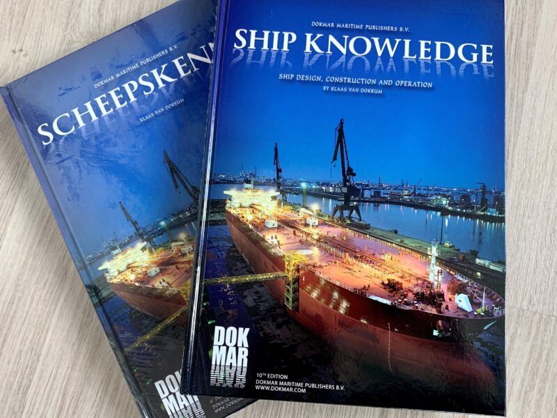 ABC featured in the marine reference book on Ship knowledge 10th edition