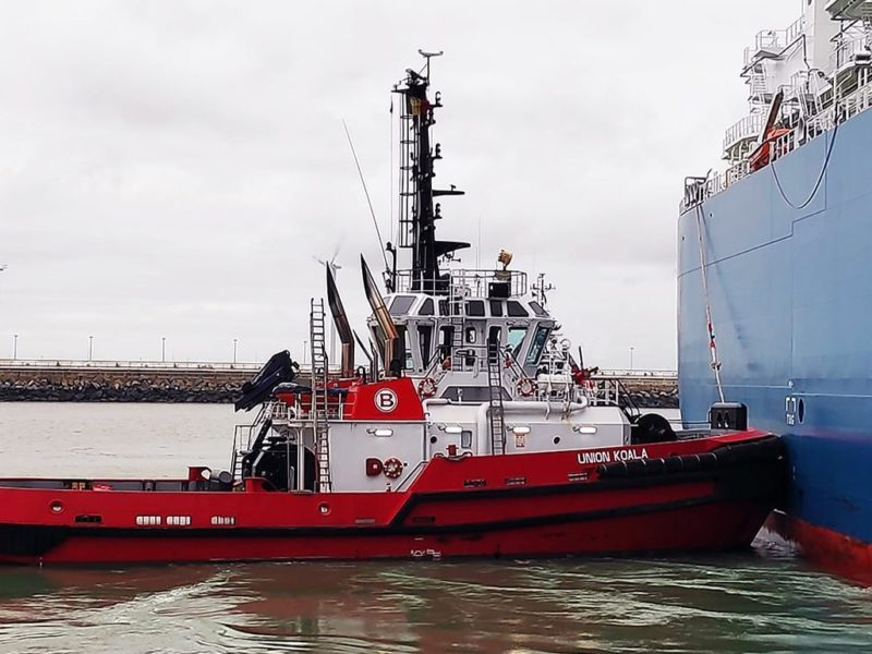 Boluda Towage Europe engaged Anglo Belgian Corporation for a successful conversion to IMO III emission standards at the Union Koala tugboat