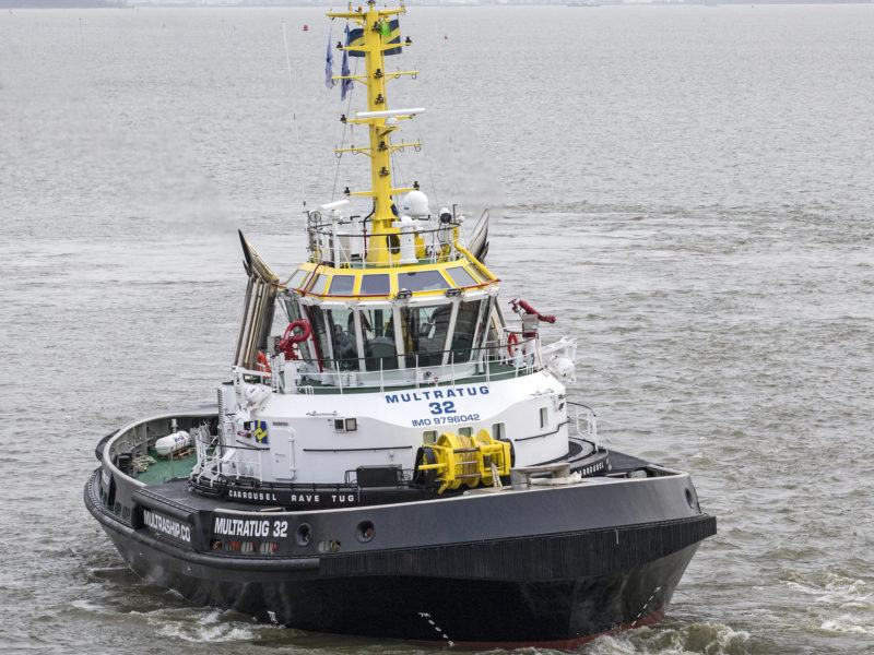 Schlepper und OSVs (Offshore Supply Vessels)