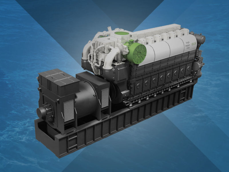 Diesel-electric propulsion & auxiliary gensets