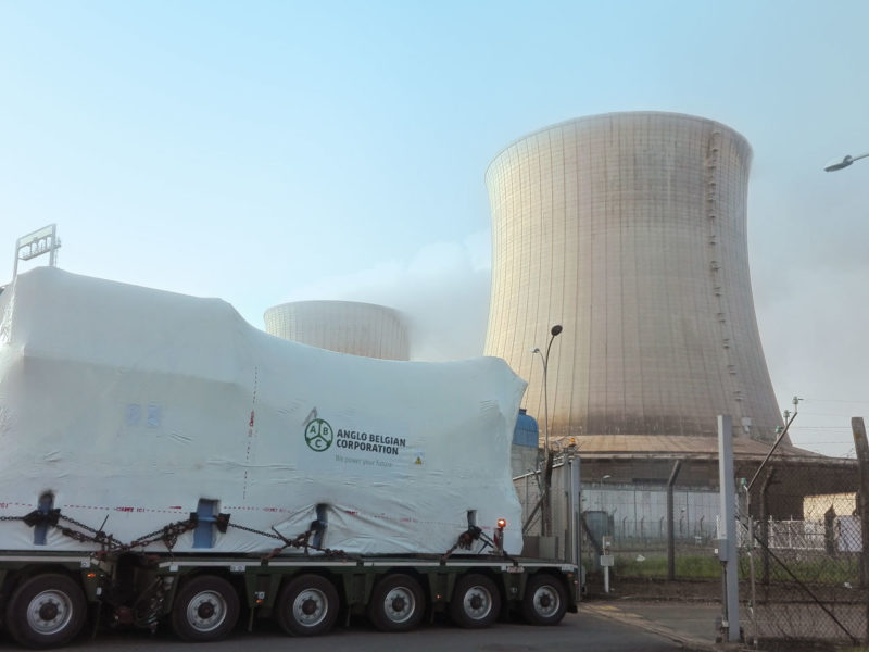 Nuclear back-up gensets